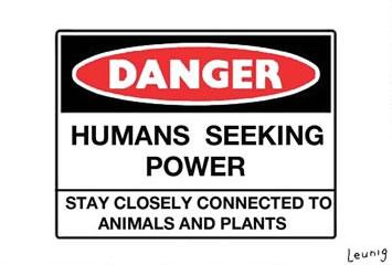 danger humans luenig