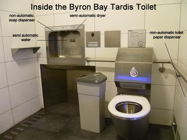 tardis toilet inside